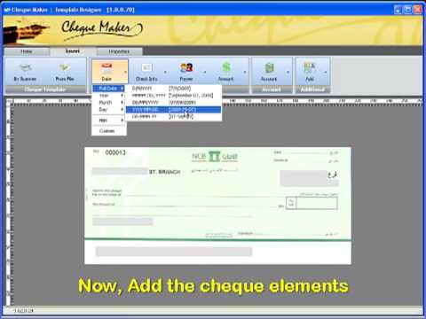 Demor Cheque Maker Create Cheque Template Within 5 Min Youtube