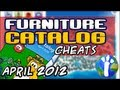 Club Penguin - April 2012 Furniture Catalog Cheats