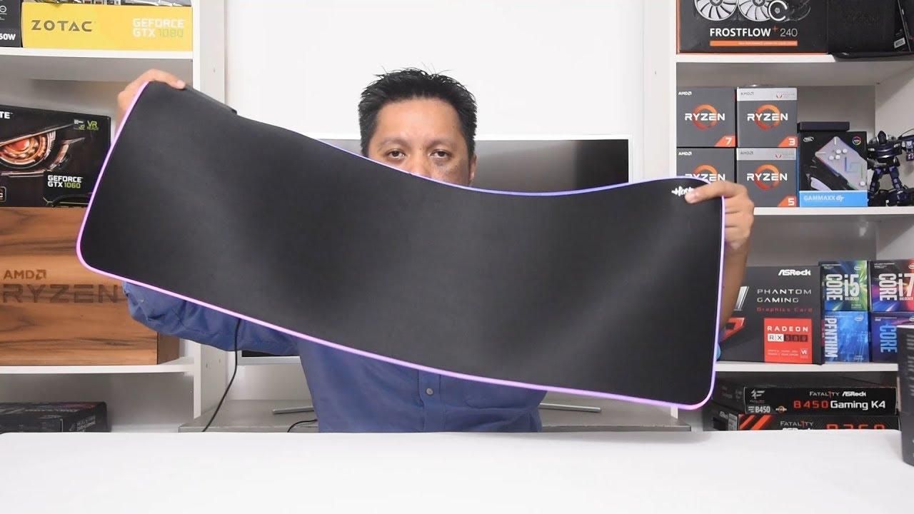 Tecware Haste XL Gaming Mousemat RGB at RM 89, good stuff?