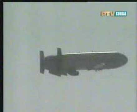 Download Pakistani air launched cruise missile (Hatf-8) test