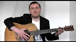 My Heart Will Go On - Fingerstyle Guitar Lesson - Theme From Titanic - Celine Dion - Drue James