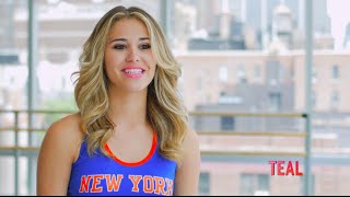 Knicks City Dancers Profile: Teal