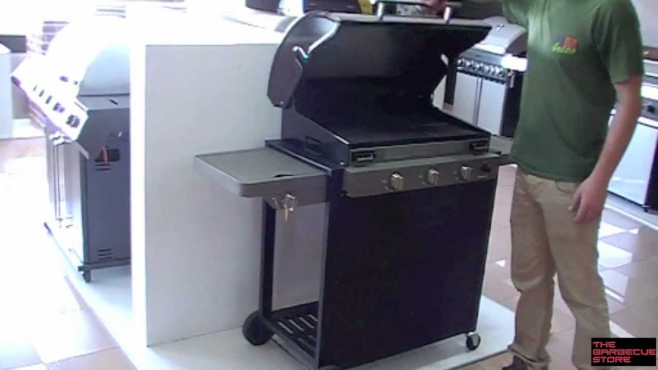 barbacoa a gas barbecook brahma 4 0 ceram youtube. Black Bedroom Furniture Sets. Home Design Ideas