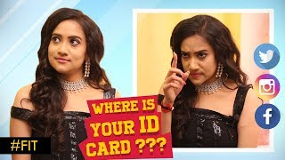 Actress Asritha I block Abuse thing : Your one night charge so & so…! Where is your ID Card.? #FIT