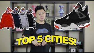 TOP 5 CITIES TO BUY SNEAKERS AND STREETWEAR
