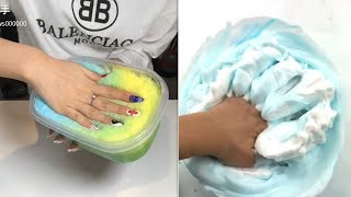 The Most Satisfying Crunchy Slime ASMR #10 new compilation 2019