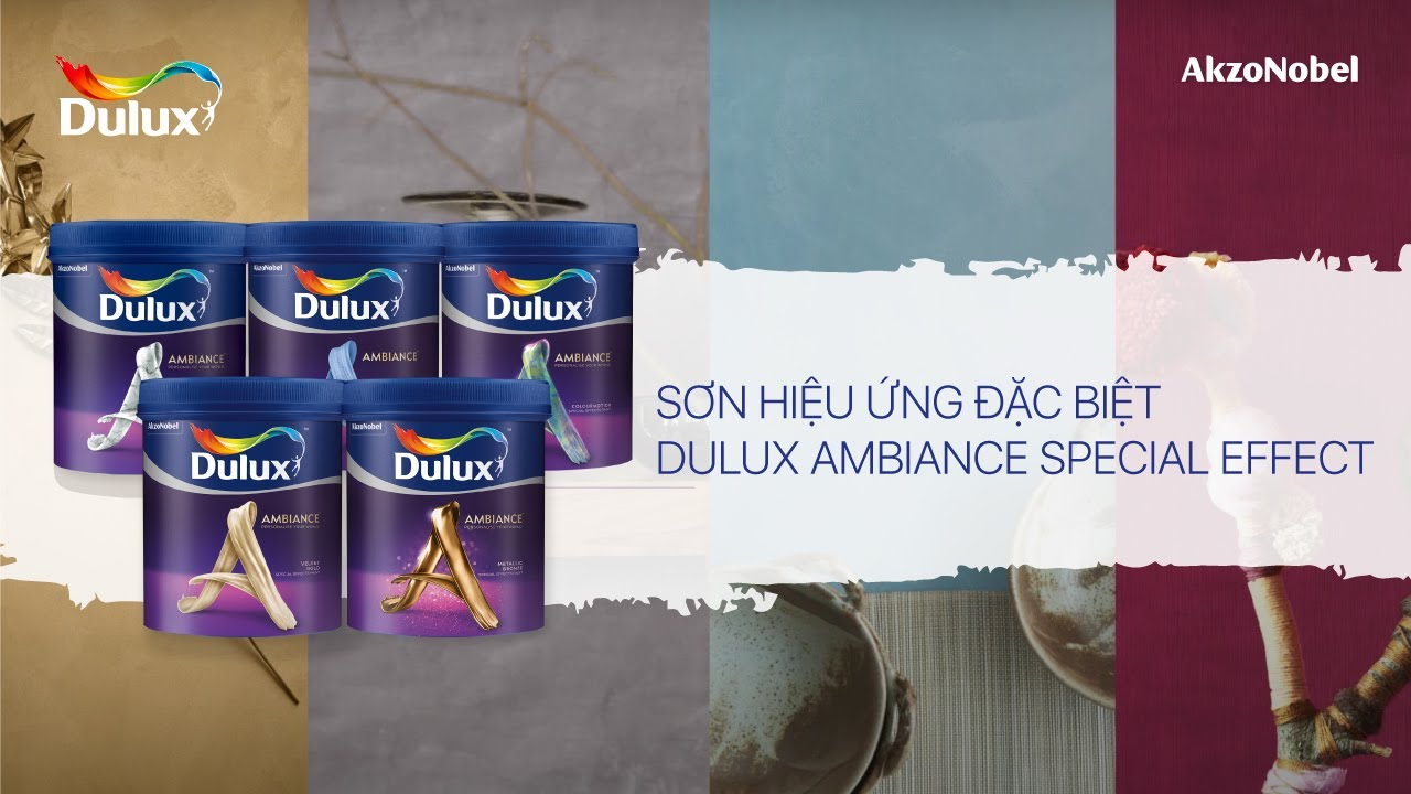 Dulux Ambiance Special Effects  YouTube