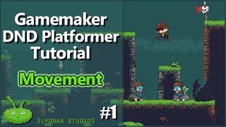 Gamemaker DND Platformer Tutorial - #1 Movement