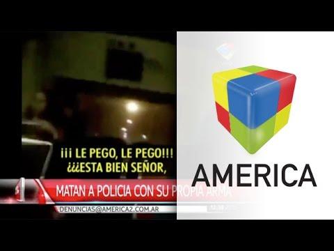 Mendoza: un pasajero registró con su celular el asesinato de un policía
