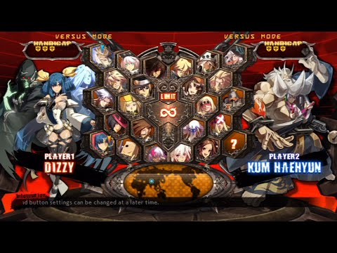 Guilty Gear Xrd -REVELATOR- All Characters (Including DLC) [PS3]