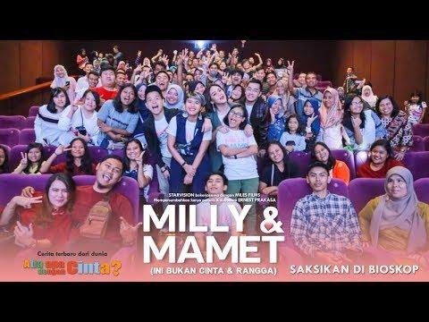 Cover Lagu MILLY & MAMET (Ini Bukan Cinta & Rangga) - Nobar Di SKA XXI Pekanbaru & Media Visit STAFABAND