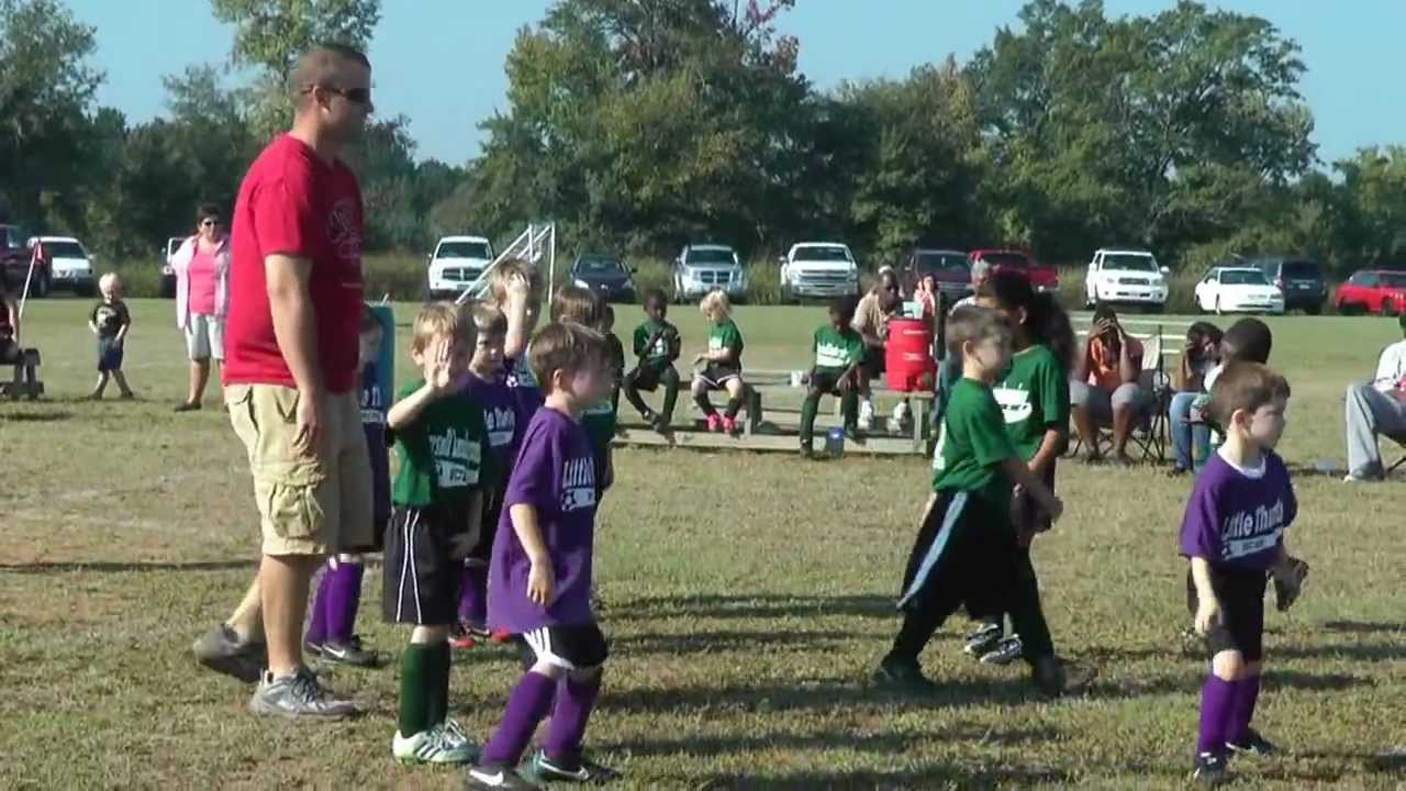 4 Year Old Soccer Game 3 Youtube