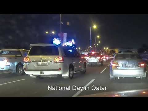 Nationals and expatiates take part in Qatar National Day celebrations