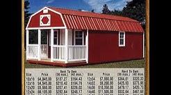 The Barn Lot Portable Sheds and Barns