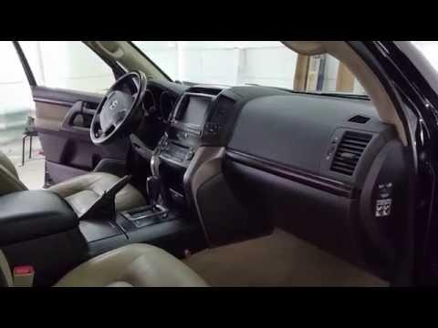Детейлинг химчистка Toyota Land Cruiser 200