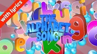 The Alphabet Song (ABC) - UK Version (With Lyrics)
