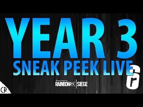 Year 3 Sneak Peek Live! - White Noise - Tom Clancy's Rainbow Six Siege - R6
