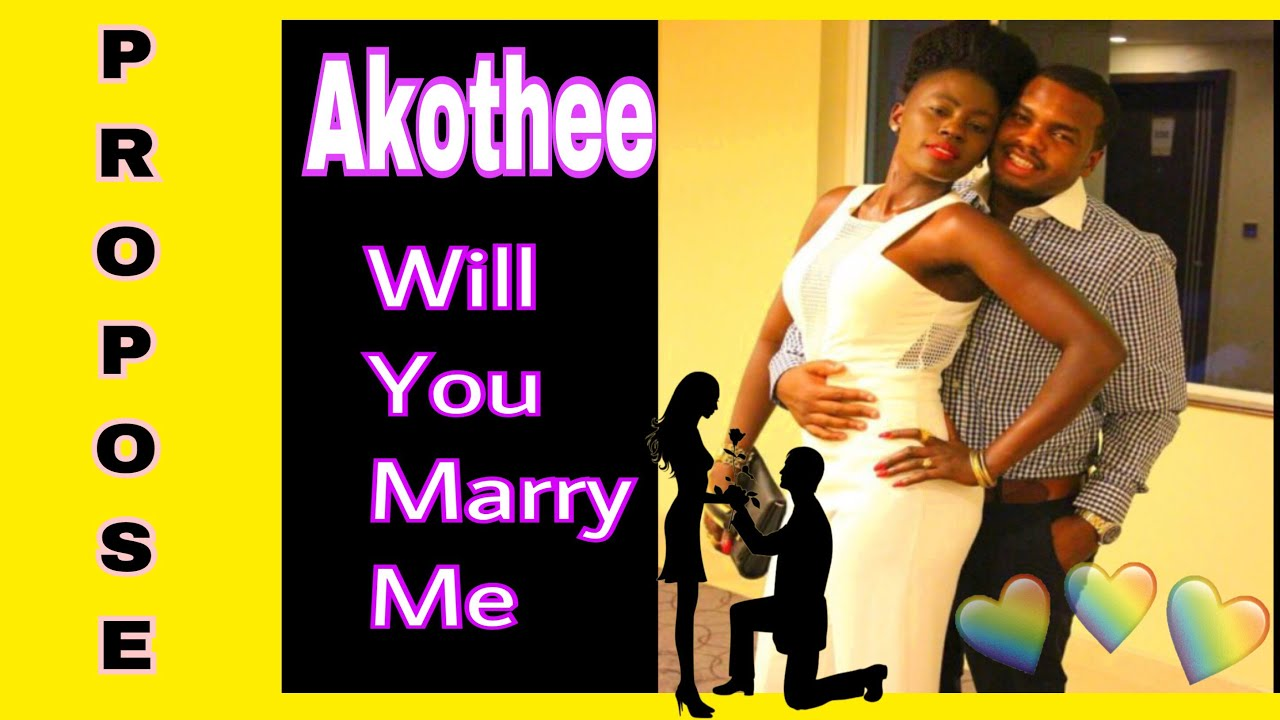 Akothee says will you marry me to the love of her life