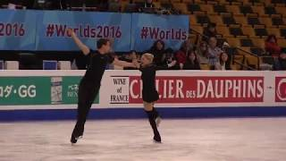 Practice Archives: Alexa Scimeca and Chris Knierim FS Practice 2016 World Championships