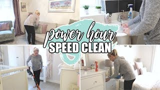 POWER HOUR SPEED CLEAN | CLEANING MOTIVATION  Sarah-Jayne Fragola