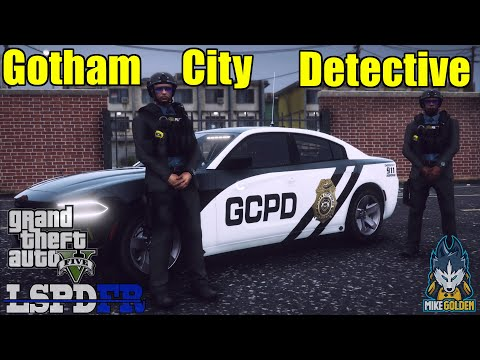 Gotham City Police Detective Patrol | GTA 5 LSPDFR Episode 580
