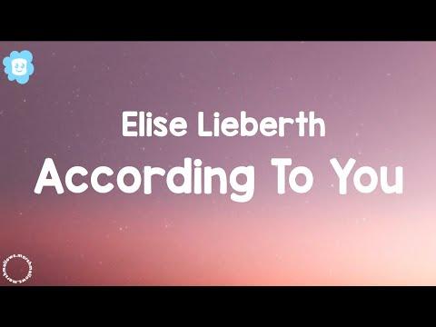Elise Lieberth - According to you ~cover~ (Lyrics) Tiktok Version