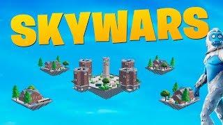 Новая мини-игра SKYWARS в творческой режиме Фортнайт!