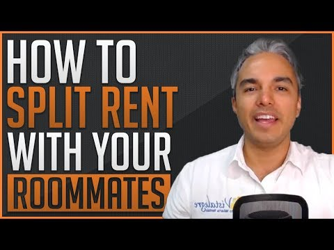 How to split rent with your Roommates