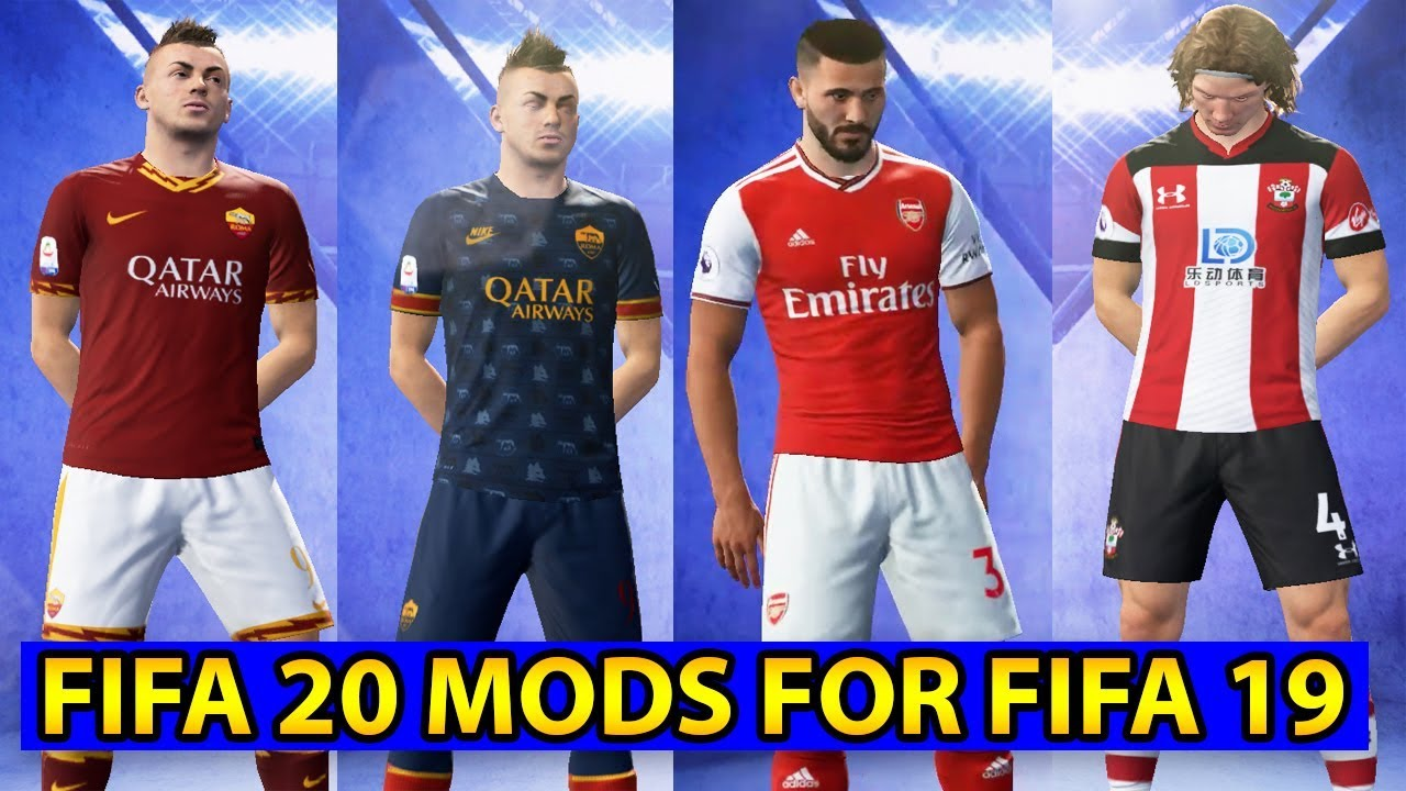 FIFA 20 PATCH FOR FIFA 19 - UPDATE NEW KITS 2019/2020