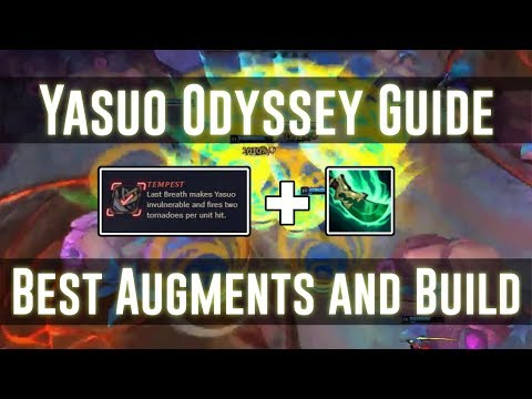 BEST ODYSSEY SET UP FOR YASUO!!! - Odyssey Yasuo Guide