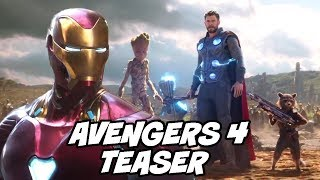 Avengers 4 New Teased Concept Art Breakdown and Explained with Avengers Infinity War