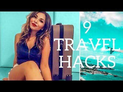 9 TRAVEL HACKS & TIPS | Cheap Flights & Hotels