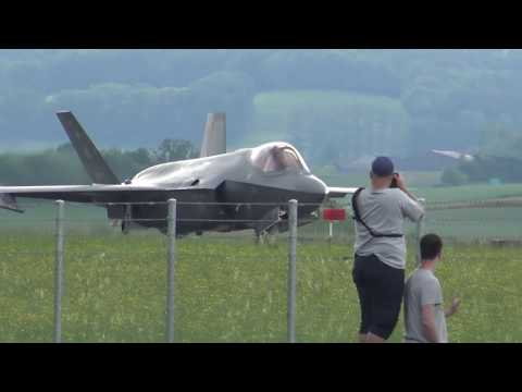 F-35 in Payerne VD, 2019, Aircraft Evulation Swiss Military Air Force