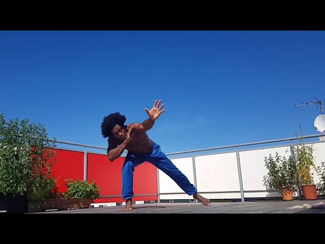 Body control Brazilian Capoeira - Gugu Quilombola