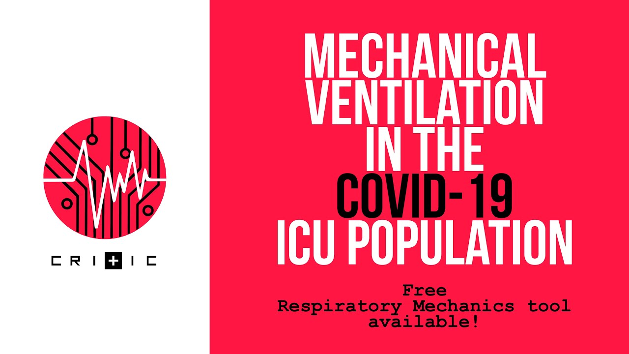 A simple tool to aid Mechanical Ventilation in the COVID-19 ICU Population