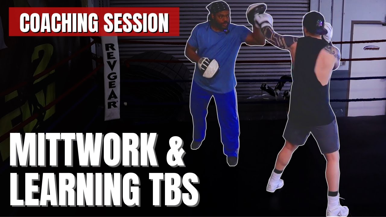 Training Session:  Teaching True Boxer Stance