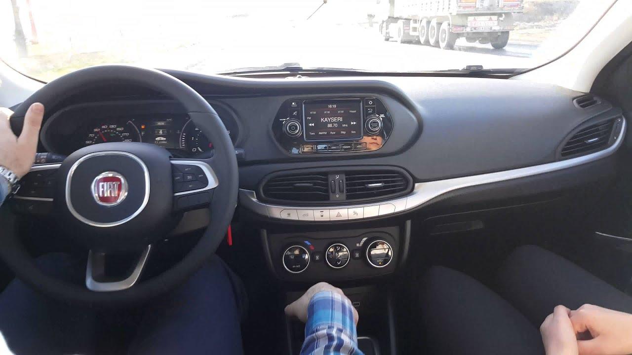 2016 fiat egea lounge 1.6 e-torq at 110 hp otomatik test - youtube