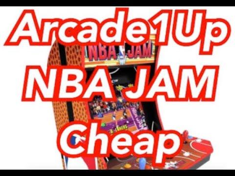 Arcade1Up NBA JAM Cheap Texas Sams Club Arcade 1Up from rarecoolitems