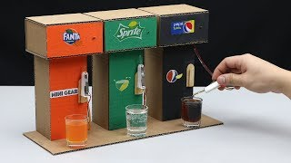 How to Make Soda Fountain Machine with 3 Different Drinks