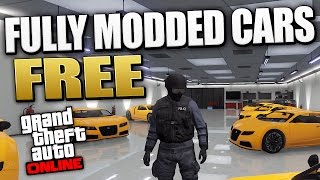 GTA 5 Online - FULLY MODDED CAR SERVICE 100% Free After Patch 1.16 (GTA 5 Online)