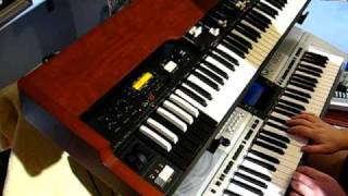 MADNESS. HOUSE OF FUN. KEYBOARD COVER. (USING MY BACKING TRACK). .MIKE BARSON