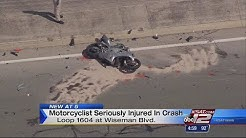 Motorcyclist's legs severed in Loop 1604 accident