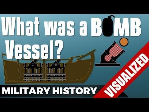What was a Bomb Vessel? #Military Units 101