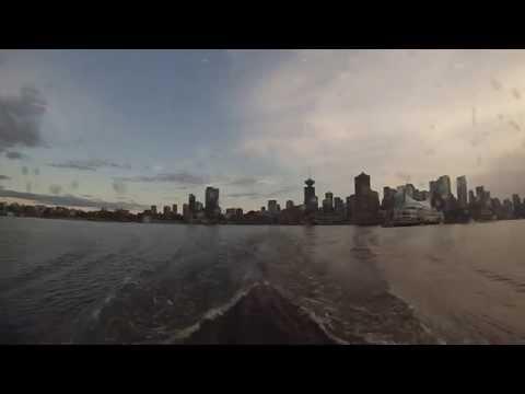 Vancouver, British Columbia - Seabus - Northbound Transit HD (2014)
