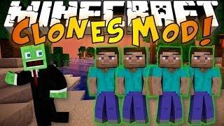 Minecraft: CLONES MOD - Clone Yourself, Teleport & Cheat Death! (SYNC MOD)