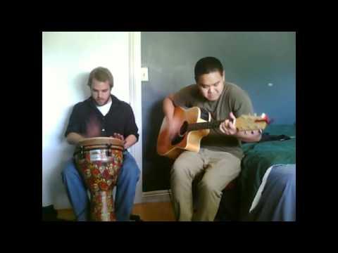 Guitar and Djembe Jam