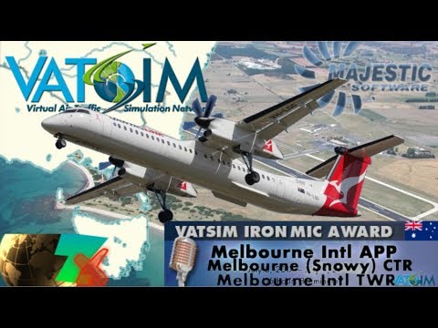 Majestic DH8D from OZx Devonport - Iron Mic Melbourne
