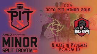 NiP vs BOOM ID | OGA Dota PIT Minor 2019