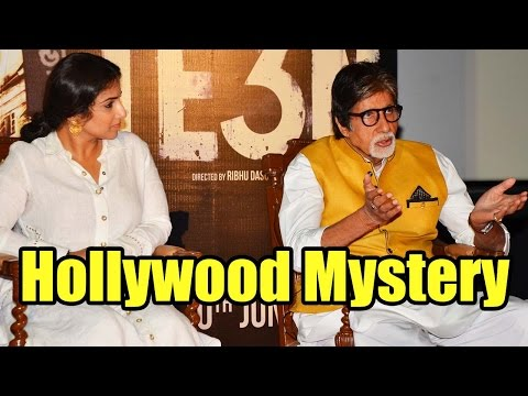 Amitabh Bachchan And Vidya Balan Share About Their Favourite Hollywood Mystery Films