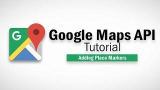 Google Map Javascript Tutorial - Adding Markers Free HD Video